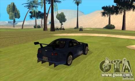 Nissan Skyline R34 GT-R LM für GTA San Andreas rechten Ansicht