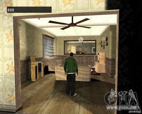Intérieurs cachés 3 pour GTA San Andreas troisième écran