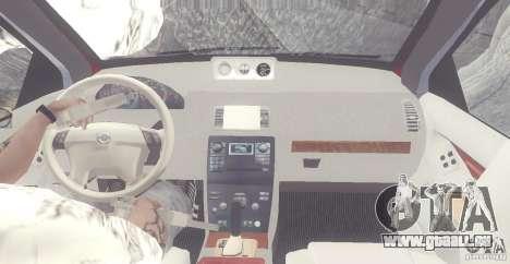 Volvo XC90 V8 2008 pour GTA San Andreas vue intérieure