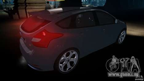 Ford Focus 3 ST pour GTA 4 est un droit