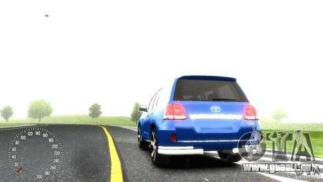 Toyota Land Cruiser 200 RESTALE pour GTA 4 est un droit