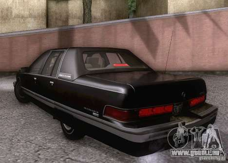Buick Roadmaster 1996 für GTA San Andreas zurück linke Ansicht
