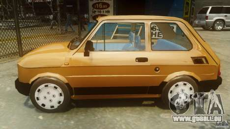 Fiat 126p FL Polski 1994 Wheels 2 für GTA 4 linke Ansicht