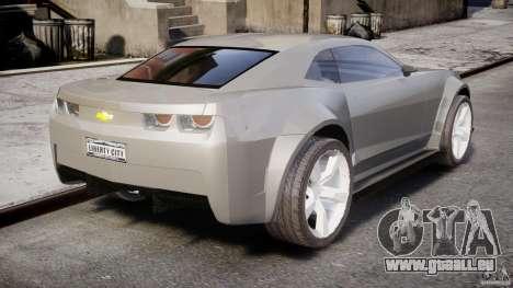 Chevrolet Camaro 2009 pour GTA 4 est une vue de l'intérieur