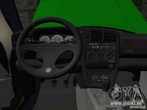 Volkswagen Corrado 1995 pour GTA San Andreas vue de dessous