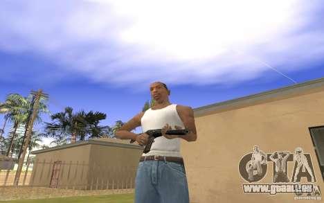 Machine spéciale arbre pour GTA San Andreas quatrième écran