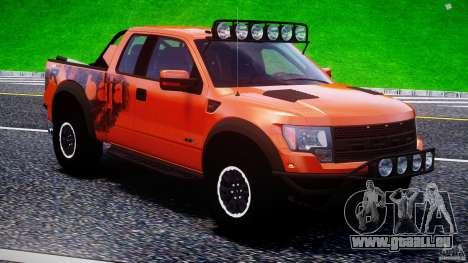 Ford F150 Racing Raptor XT 2011 pour le moteur de GTA 4