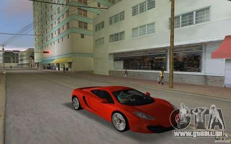 Mclaren MP4-12C pour une vue GTA Vice City de la gauche