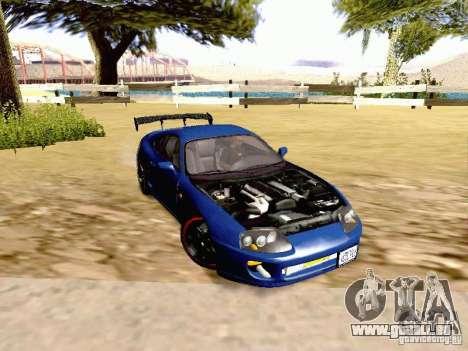 Toyota Supra Drift Edition pour GTA San Andreas