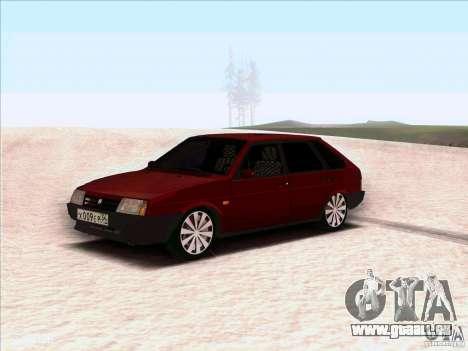 VAZ 2109 hiver pour GTA San Andreas