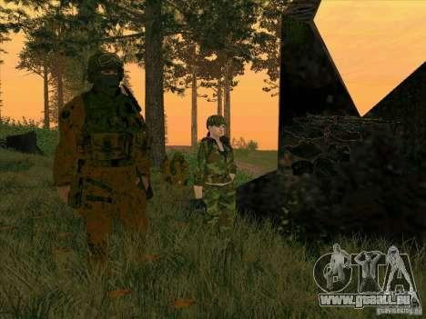 Camo Schlamm Morpeh für GTA San Andreas fünften Screenshot
