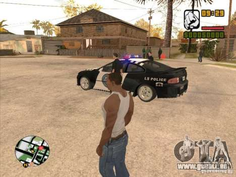 Call the Police für GTA San Andreas her Screenshot