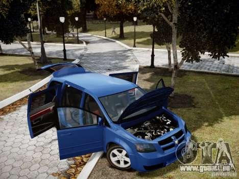 Dodge Grand Caravan SXT 2008 für GTA 4 Seitenansicht