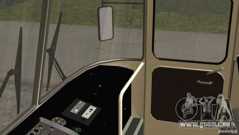 Peau LAZ 699R 93-98 1 pour GTA San Andreas vue de dessus