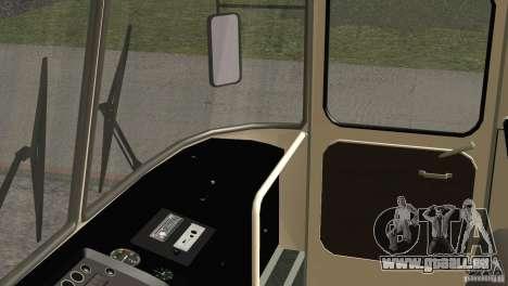 LAZ 699R 93-98 Haut 1 für GTA San Andreas obere Ansicht