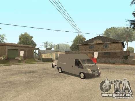 Ford Transit 2007 pour GTA San Andreas laissé vue