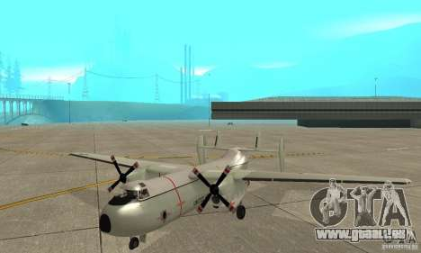C-2 Greyhound für GTA San Andreas