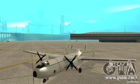 C-2 Greyhound für GTA San Andreas