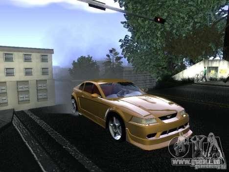 Ford Mustang SVT Cobra pour GTA San Andreas vue de droite