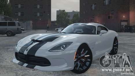 Dodge Viper SRT GTS 2013 pour GTA 4