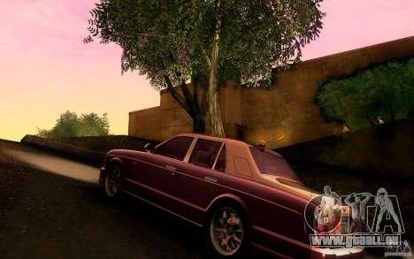 Bentley Arnage R 2005 für GTA San Andreas zurück linke Ansicht