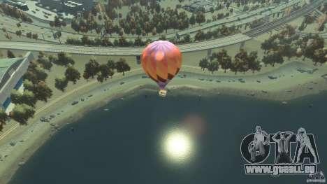 Balloon Tours option 1 pour GTA 4 Vue arrière de la gauche