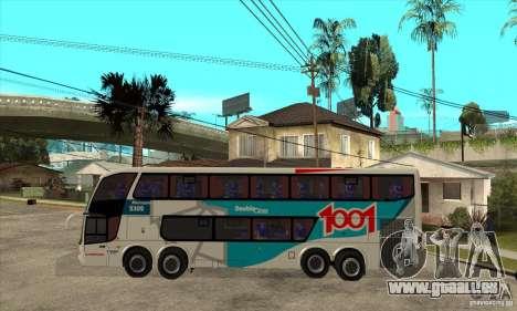 Marcopolo Paradiso 1800 G6 8x2 für GTA San Andreas linke Ansicht