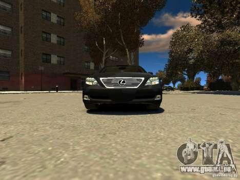 Lexus LS600 V2.0 für GTA 4 rechte Ansicht