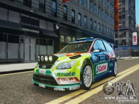 Ford Focus RS WRC pour GTA 4
