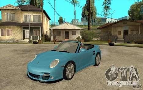 Porsche 911 Cabriolet 2010 für GTA San Andreas