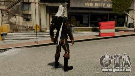 Geralt de Rivia v3 pour GTA 4 troisième écran