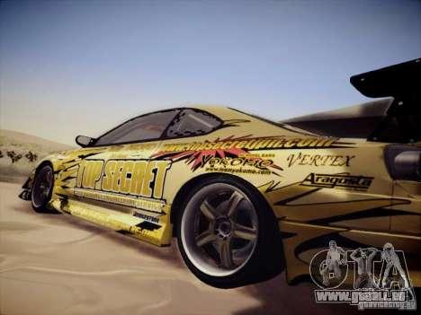 Nissan Silvia S15 Top Secret v2 pour GTA San Andreas vue de droite