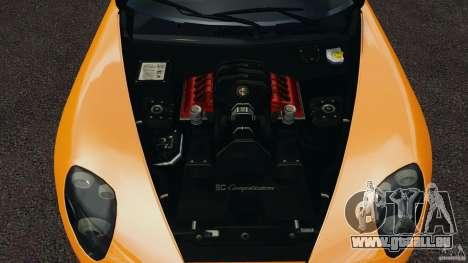 Alfa Romeo 8C Competizione für GTA 4 Seitenansicht