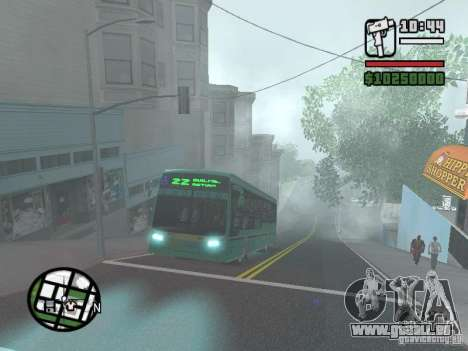 Metalpar 22 pour GTA San Andreas vue de côté