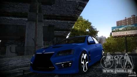 Holden HSV GTS pour GTA 4