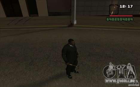 Nouvelle canne pour GTA San Andreas cinquième écran