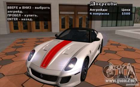 Mobile TransFender für GTA San Andreas her Screenshot