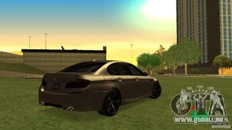 Compteur de vitesse VAZ 2110 pour GTA San Andreas deuxième écran
