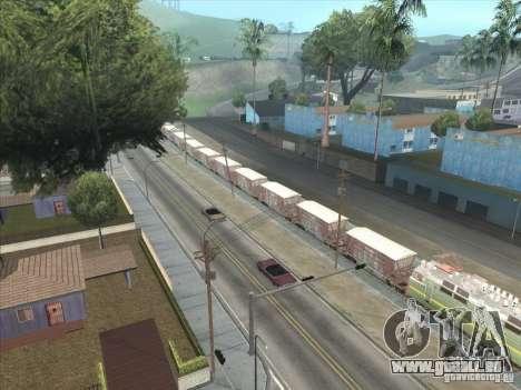 Wagons pour GTA San Andreas vue de côté