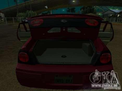 Chevrolet Impala 2003 für GTA San Andreas Innenansicht