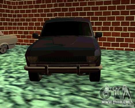 GAZ 24 v3 pour GTA San Andreas vue arrière