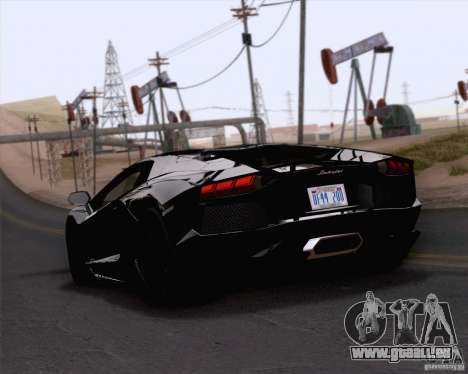 Lamborghini Aventador LP700-4 2011 für GTA San Andreas linke Ansicht