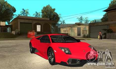 Lamborghini Gallardo LP570-4 SV pour GTA San Andreas vue arrière