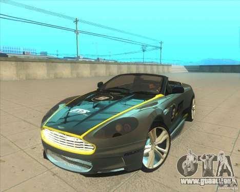 Aston Martin DBS Volante 2009 für GTA San Andreas Seitenansicht