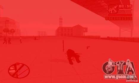 Réincarnation dans un habitant de la ville pour GTA San Andreas quatrième écran