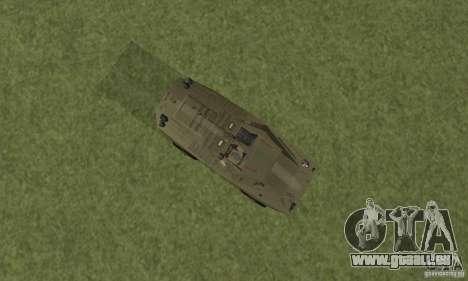 BRDM-1 Skin 2 für GTA San Andreas Rückansicht