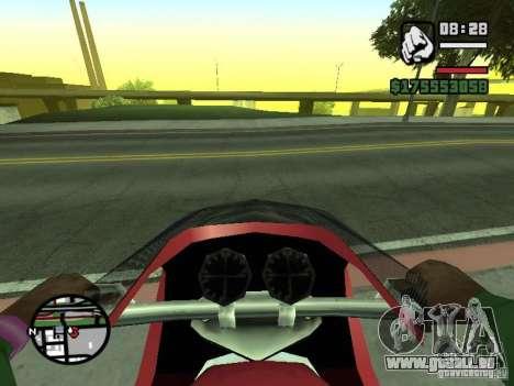 Erste Person (First-Person-mod) für GTA San Andreas her Screenshot