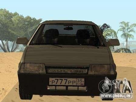 VAZ 21099 Sommer für GTA San Andreas rechten Ansicht