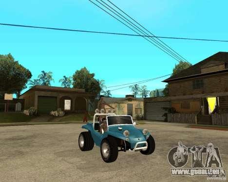 Volkswagen Dune Buggy pour GTA San Andreas vue de droite
