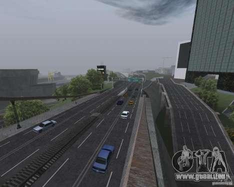 Nouvelles routes pour GTA San Andreas troisième écran